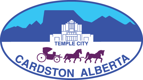 Town of Cardston logo